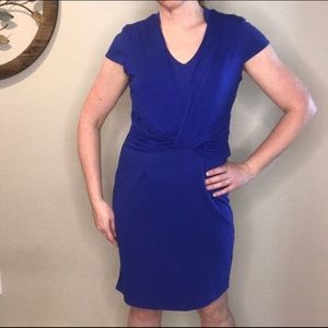 Women's Royal Blue Dress Spense Size 10 Career